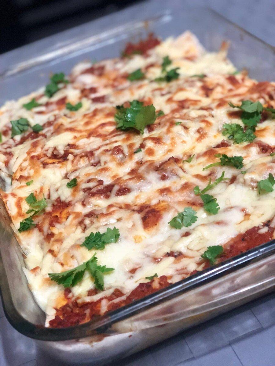 Made yesterday , chicken enchiladas #tasty #yummy #delicious https://t.co/VFJ87JeM5O
