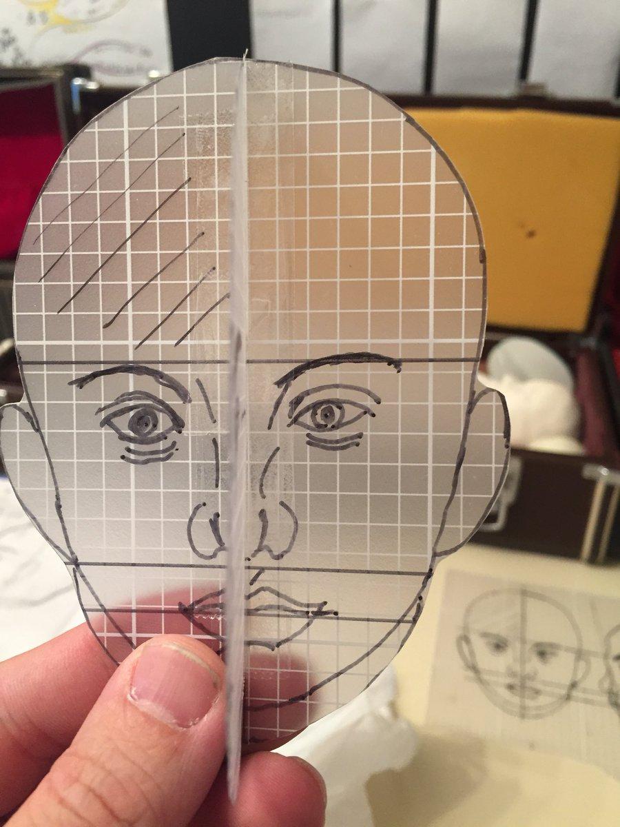 test ツイッターメディア - 球体関節人形の制作。 設計の大切さを学んでいます。 セリアの方眼塩ビシートはなかなか使えます。 #球体関節人形 #三上りあん #セリア https://t.co/AGWxidqziH