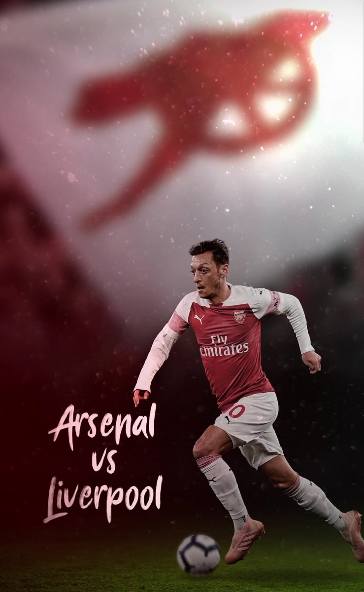 Matchday! 💥 #YaGunnersYa #COYG #ARSLIV @Arsenal @premierleague