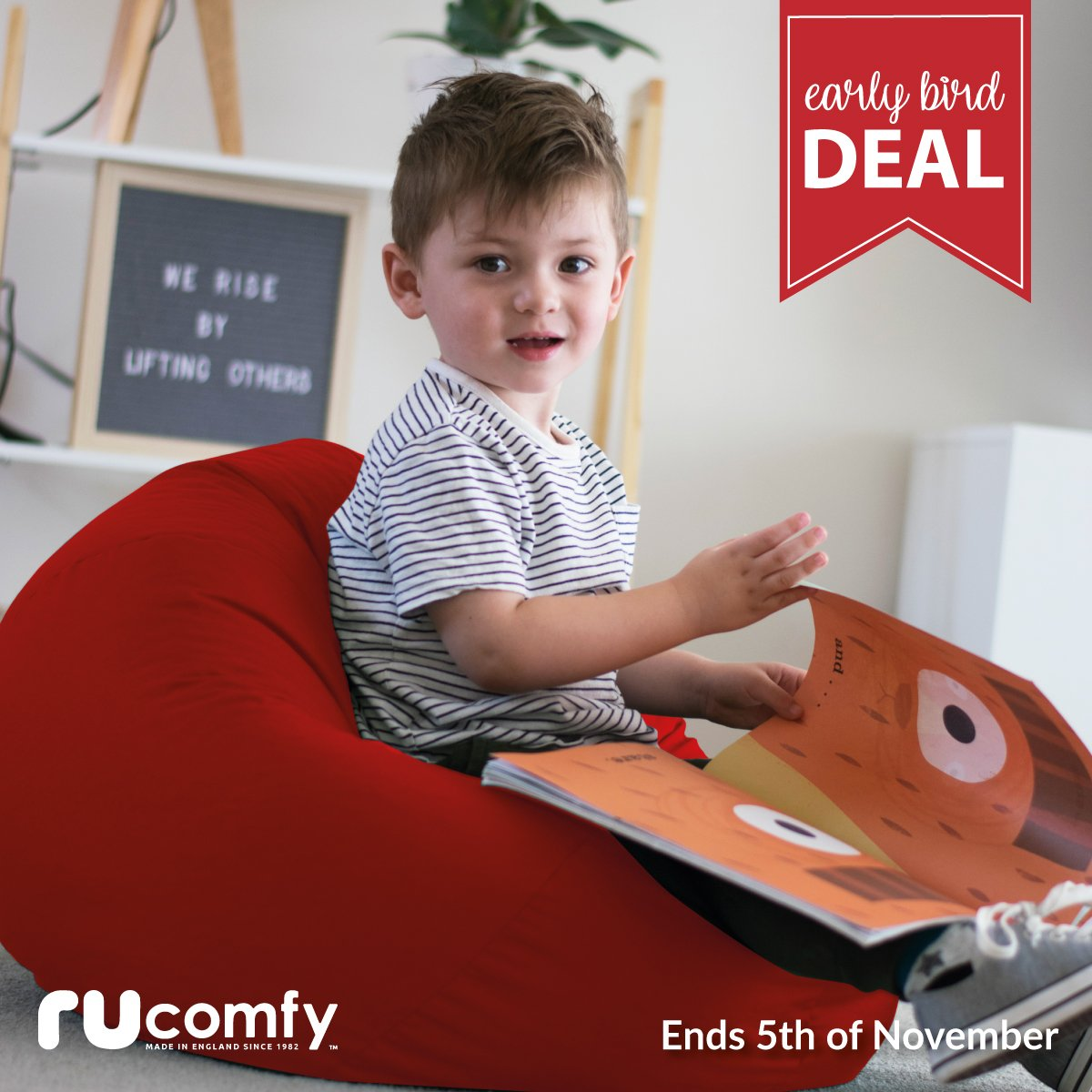 Rucomfy Beanbags On Twitter Early Bird Deals Small Kids