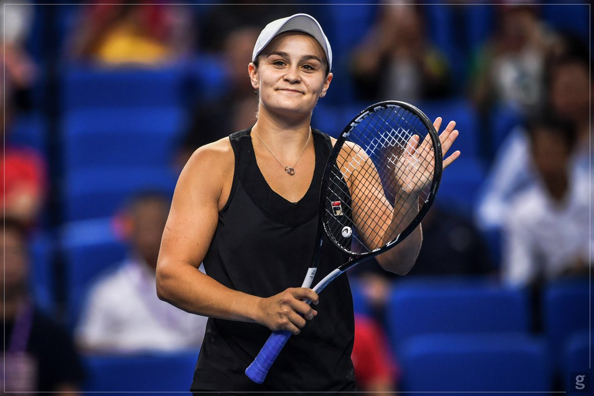 That finals feeling!! One more to go 🤗🎾🇨🇳👌🏽 @WTAEliteTrophy