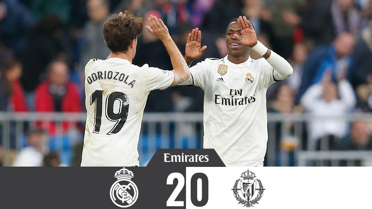 El Real Madrid volvió a la senda del triunfo