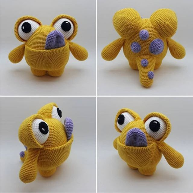 Amigurumi Monsters Kawaii Crochet Books Giveaway - CLOSED - Super ... | 640x640