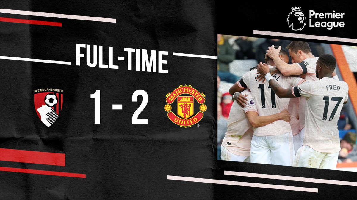 Chấm điểm kết quả Bournemouth 1-2 Manchester United