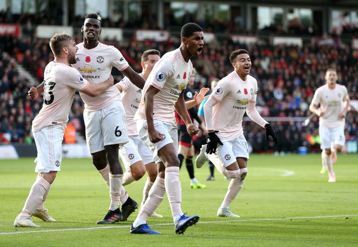 Come on!!!!! 3 points gained ⚽📶 #MUFC