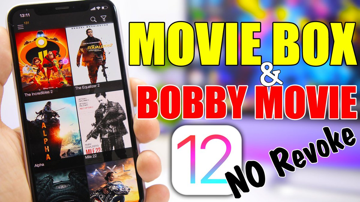 Ireviews On Twitter Install Movie Box Bobby Movie Ios 12