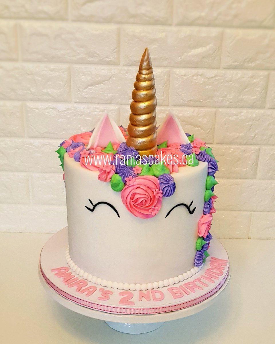 Ranias Cakes On Twitter Another Magical Unicorn Cake Happy