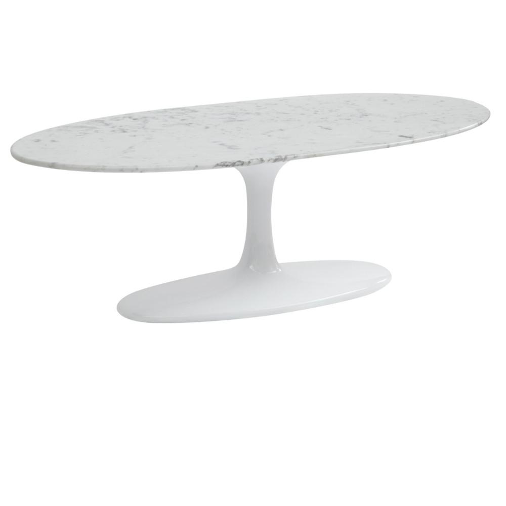 Edict Home On Twitter Flower Coffee Table Oval Marble Top