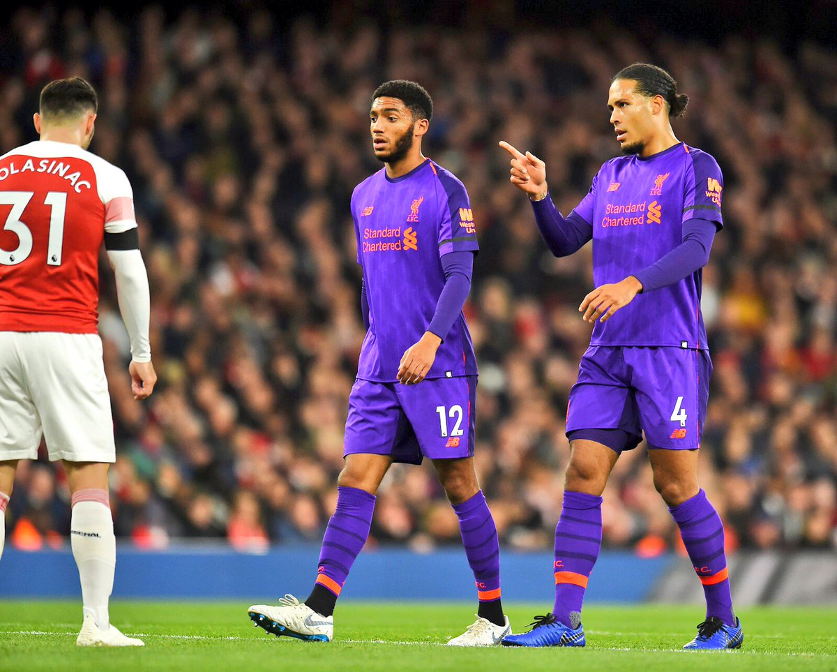 Tough game tonight but disappointing not to come away with more than a point...on to champions league now. Thank you for your support #LFC🔴