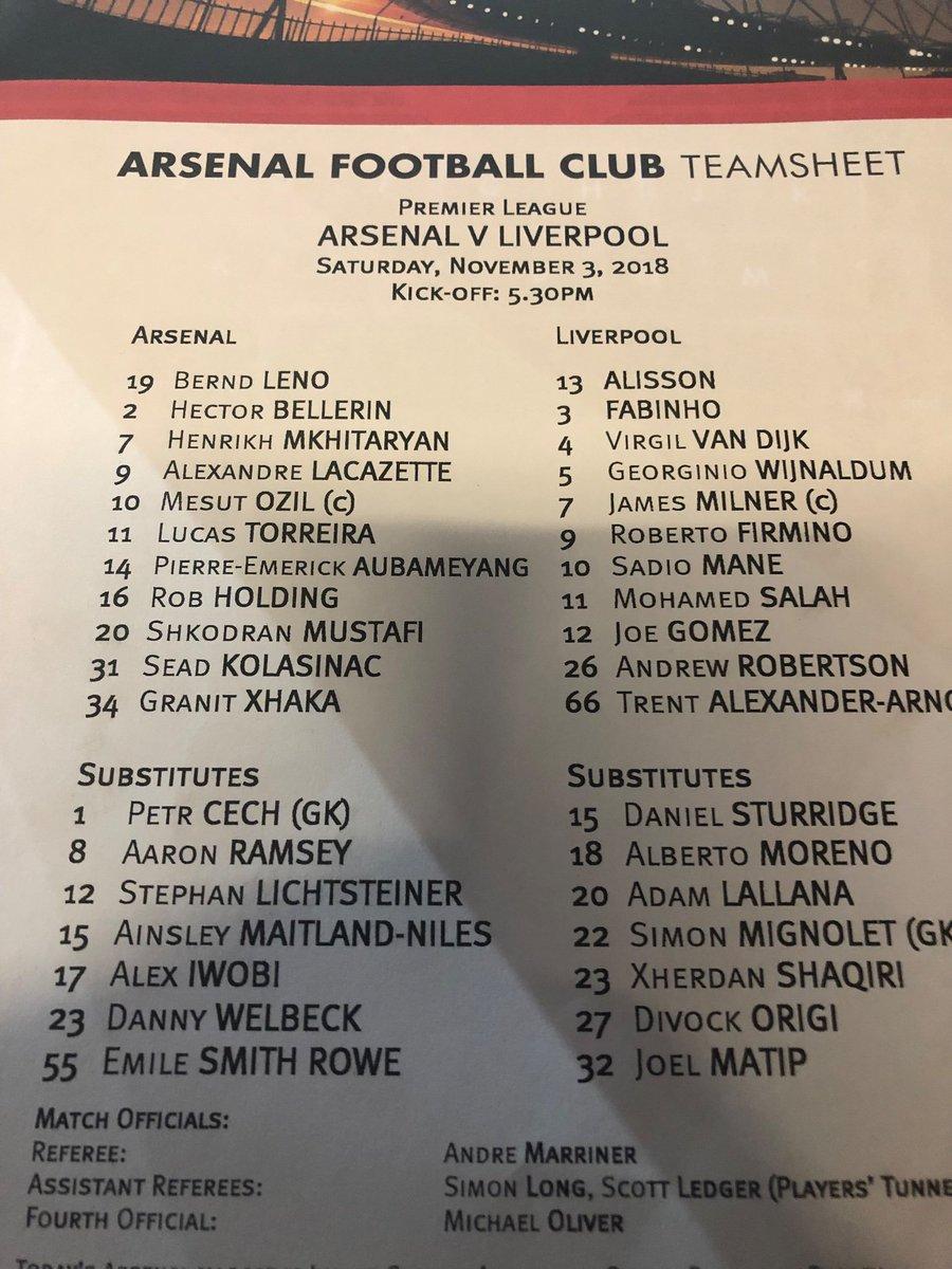 Arsenal v Liverpool #shootout