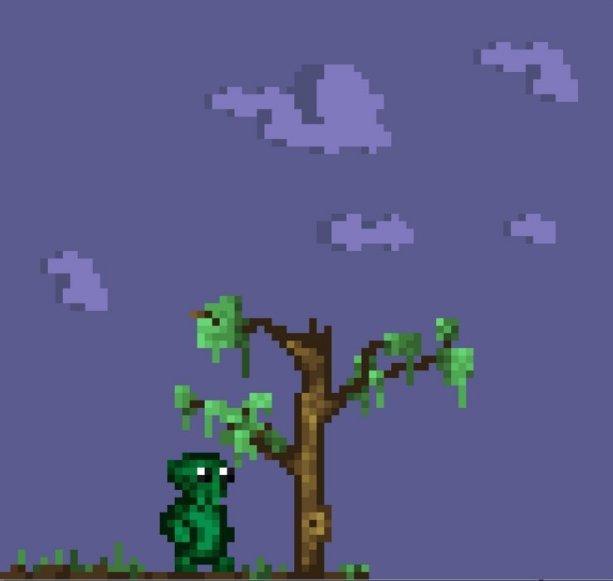 Strange Being Wondering if he is a Bot      #indiegames #pixelart #Gamers #indiegame #indiewatch #indie #retrogames #gaming #gamedev #indiedev #gameart #Space #Game #GamersUnite