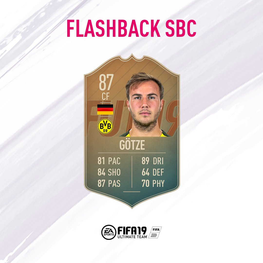 Flashback to 2014 and the goal that won the World Cup! @MarioGoetze #SBC live now in #FUT.