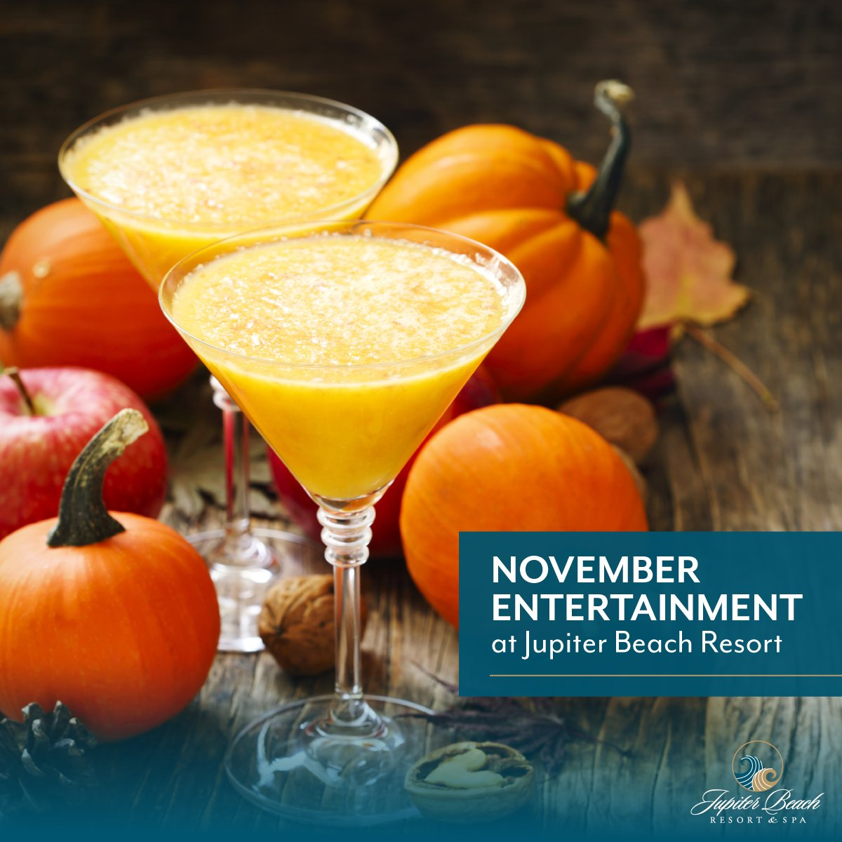 Our November live entertainment schedule is out. Join us for live music every Friday through Sunday, plus happy hour food and drink specials Monday through Friday from 4 to 7 p.m. https://t.co/T5Ax7cZdh9