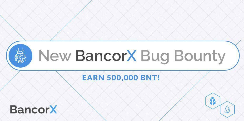 BC Focus News covers Bancor's $EOS bug bounty with up to 500,000 $BNT up for grabs. https://t.co/ygDL19UaAN https://t.co/YUaENAlerD