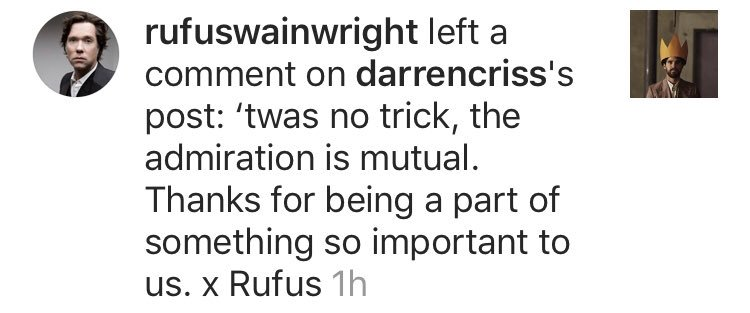 rufus wainwright instagram