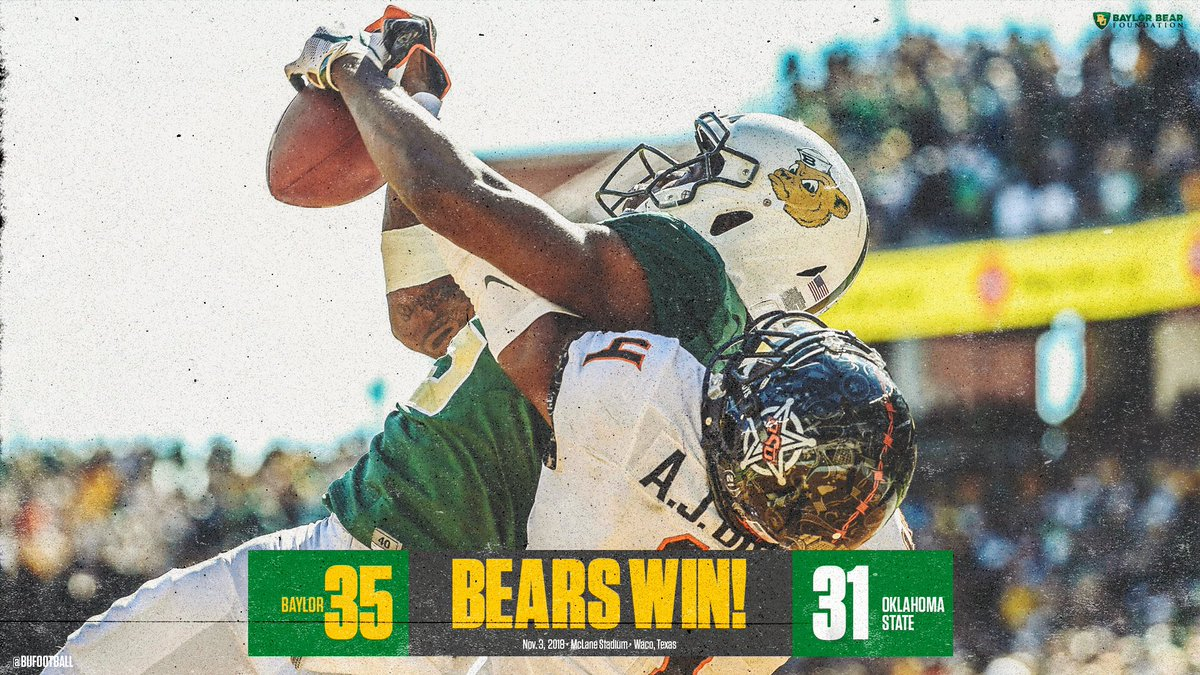 That's a Homecoming victory! #SicOSU