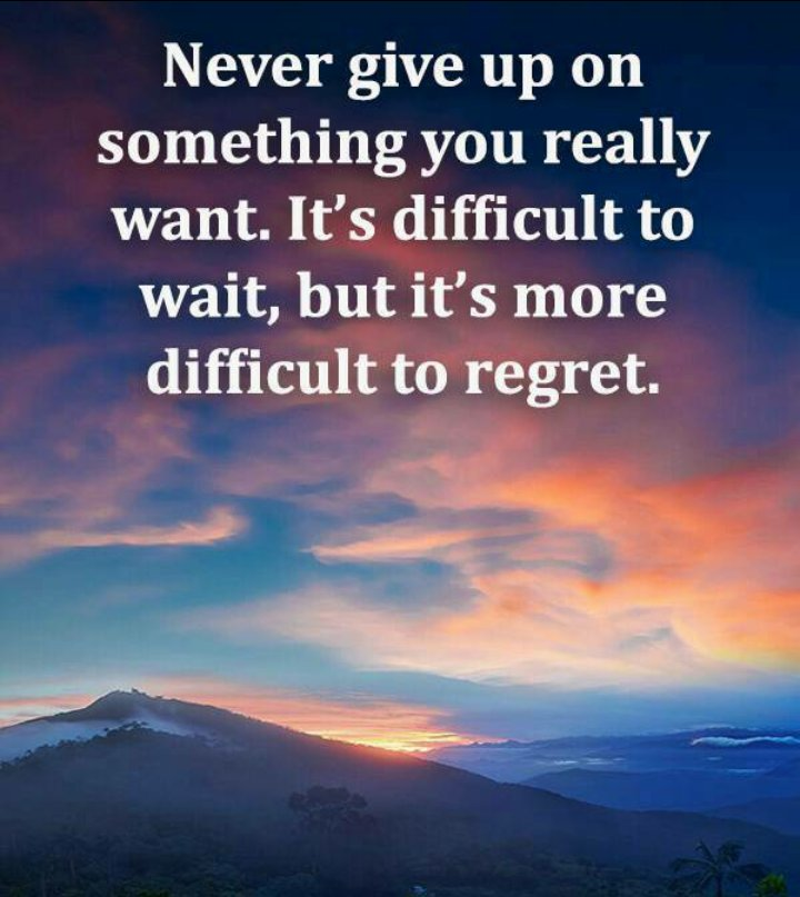 Life Quotes On Twitter Regret Giveup Difficult Life Lesson