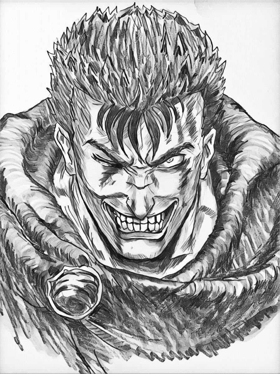 Idir S On Twitter Evil Guts Berserk Berserk Anime Manga Guts
