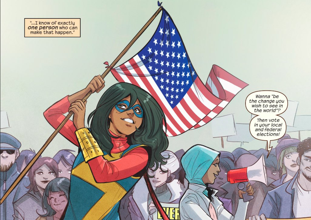 """best of kamala khan on Twitter: """"ms marvel (2016) issue #13 