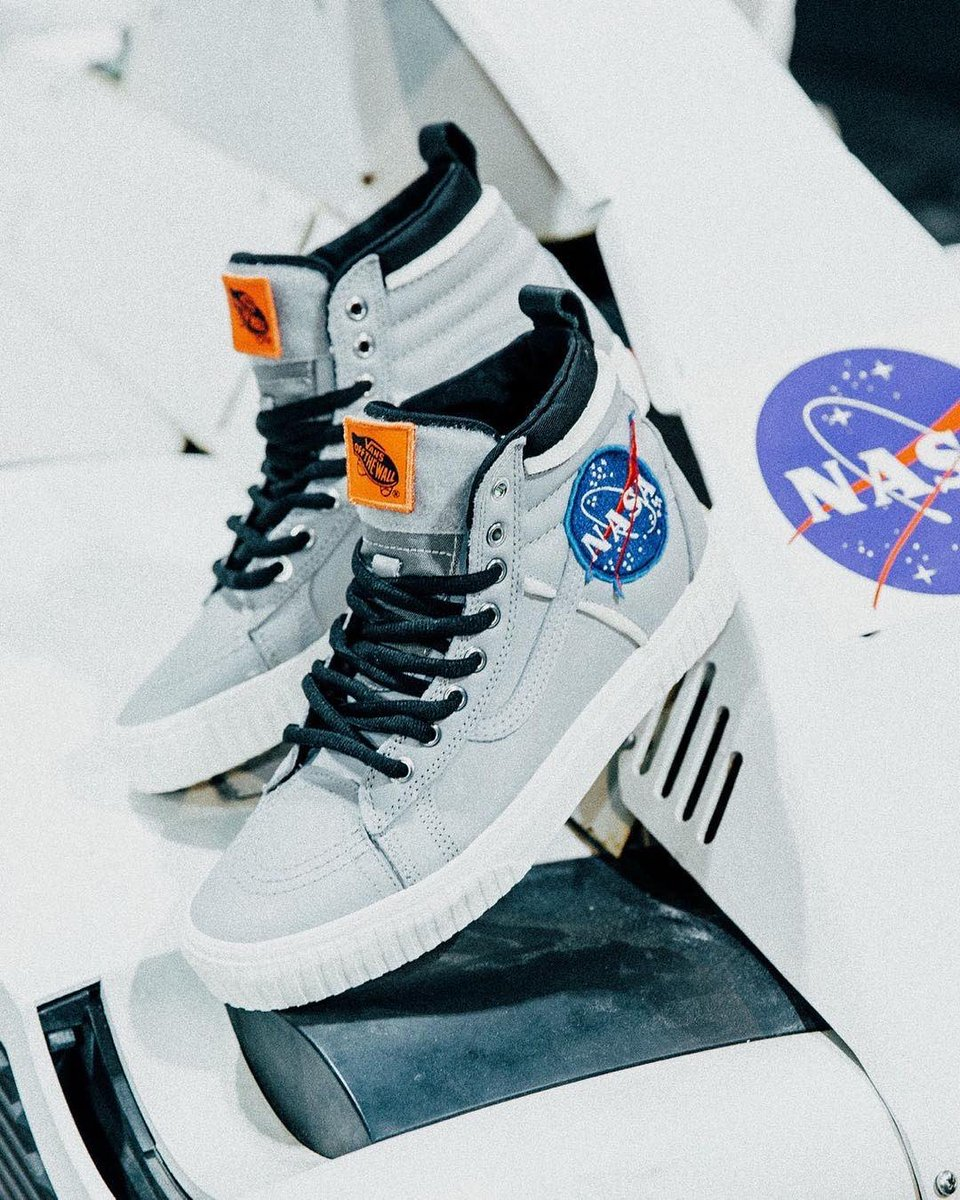 8afa4bc1285f NASA x  VANS 66 Sk8-Hi Space Voyager available at the  PacSun booth at   complexcon this weekend.pic.twitter.com fmrkfp6x4V