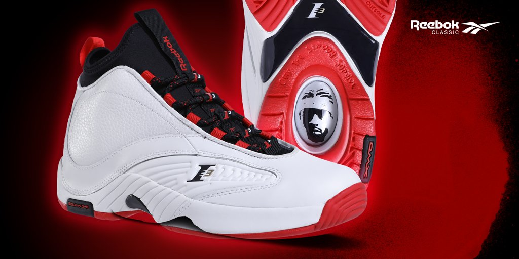 d70394d14101 Favorite Allen Iverson moment  Launching in select stores   online 11 10  the Men s  Reebok Answer IV.V  White Primal Red .