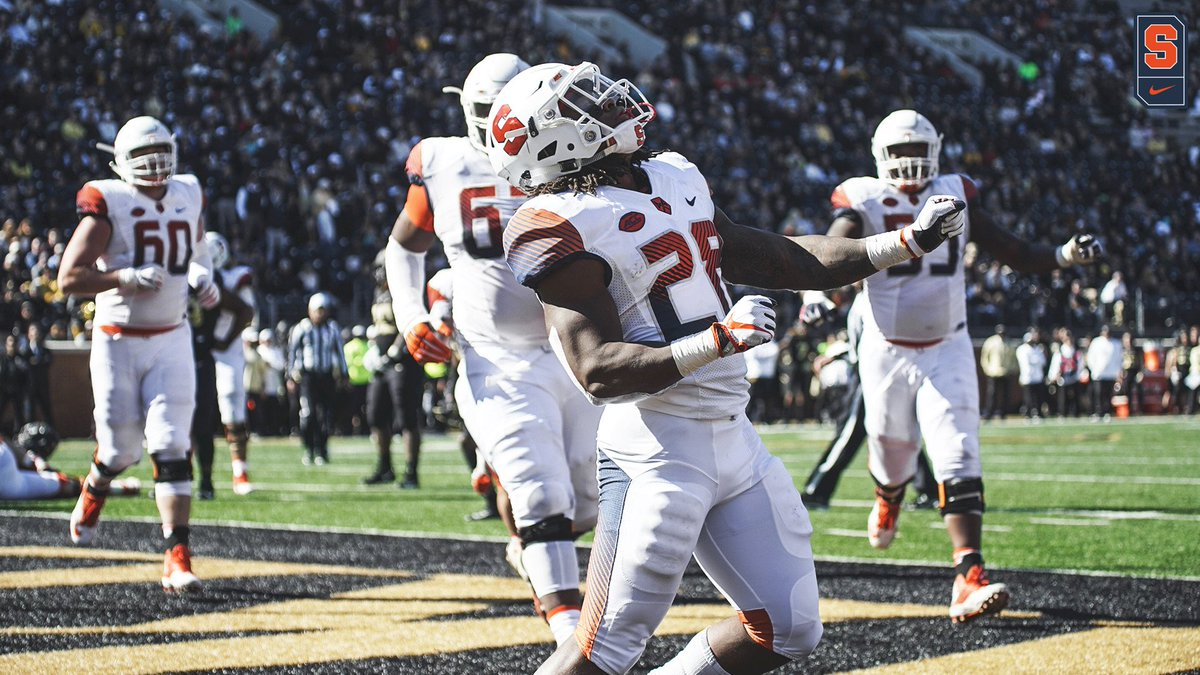 KEEPING IT GOING: Syracuse wins ground battle, 41-24 over Wake Forest