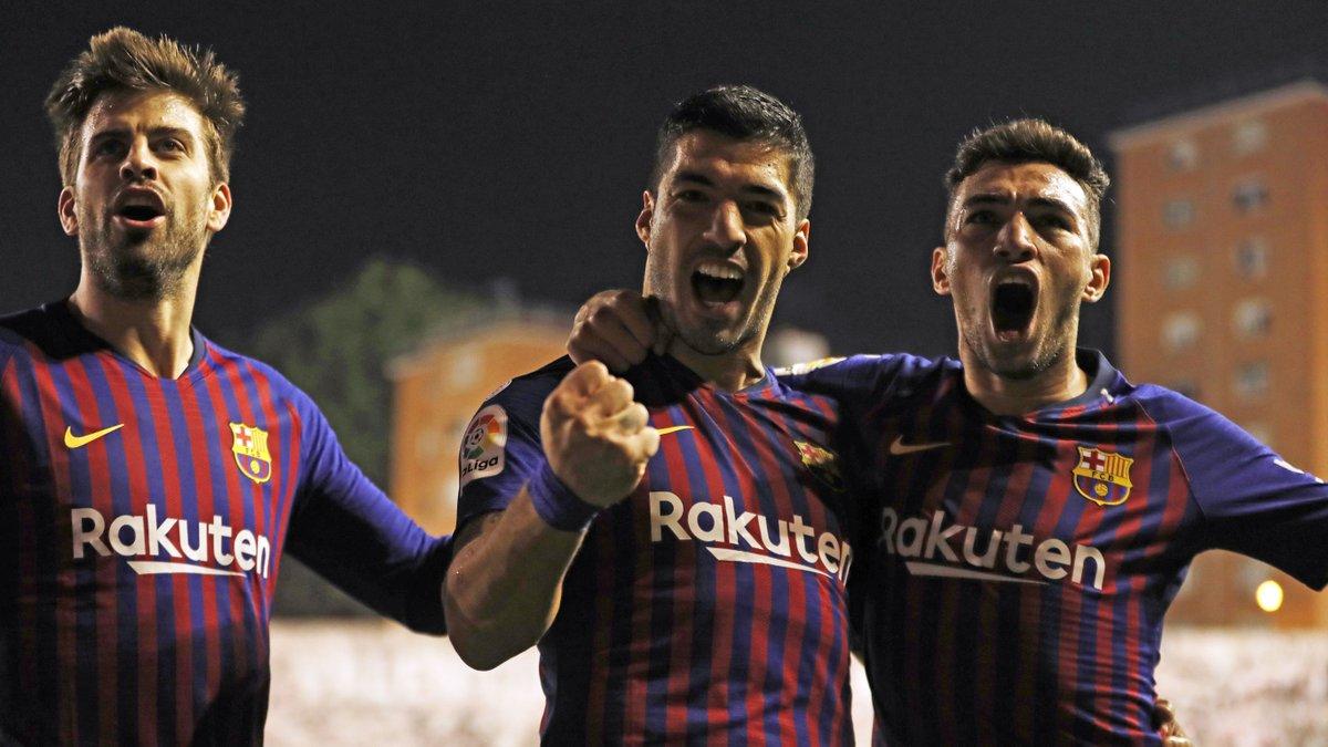 Chấm điểm kết quả Rayo Vallecano 2-3 Barcelona
