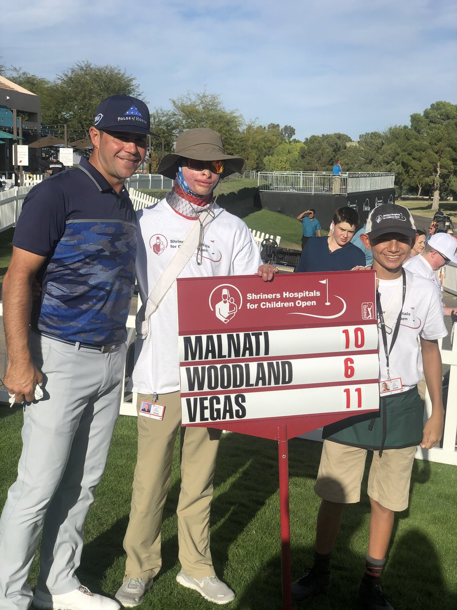 Pretty sure our @shrinershosp standard bearers will remember this weekend for the rest of their lives! ⛳️ #SHCO18