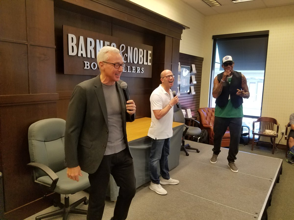 Barnes Noble Events The Grove On Twitter Thank You Darren Prince