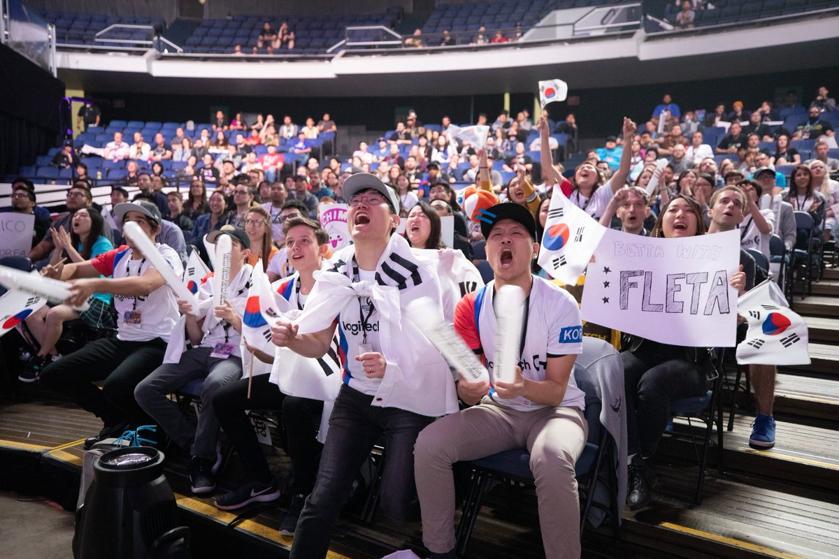 And South Korea is your #OWWC champion. Join @ArdaOcalTV and @JacobWolf 15 minutes after the trophy ceremony for our Twitter show from #BlizzCon2018.<br>http://pic.twitter.com/mMS6MqWmGZ
