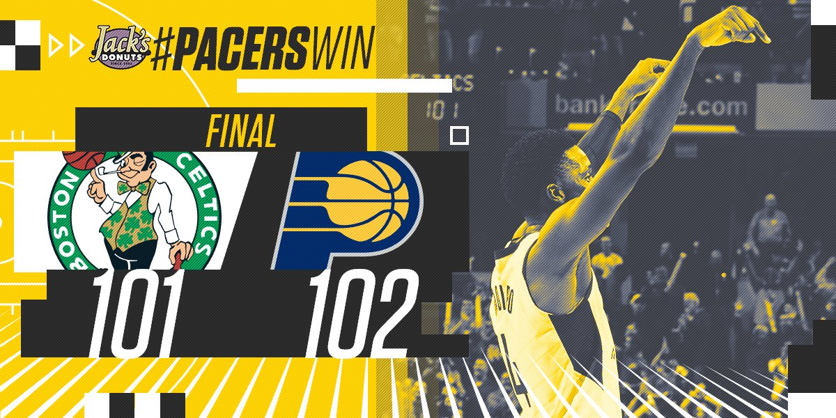 This is his city. #PacersWin! https://t.co/FfyeyiarsK