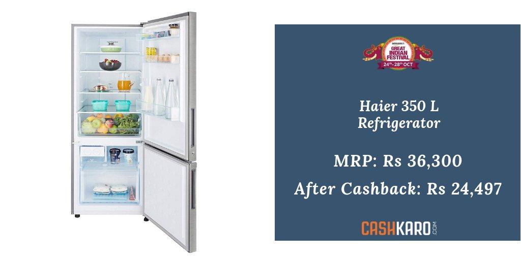 Haier 3 3 Refrigerator manual on