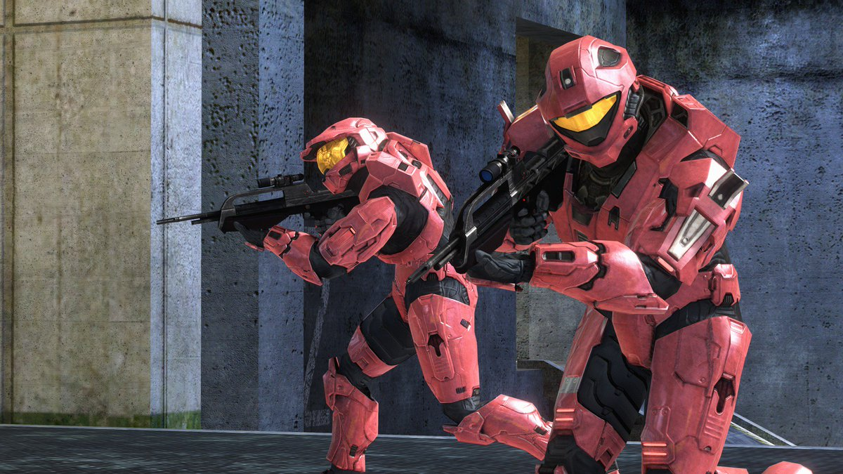 Head over to your neighborhood @MicrosoftStore today at 12pm to get in on some epic Halo 3 doubles action! Make friends, win prizes, and test your skills against local talent. Find your nearest store, details, and register online at smash.gg/mshalo!