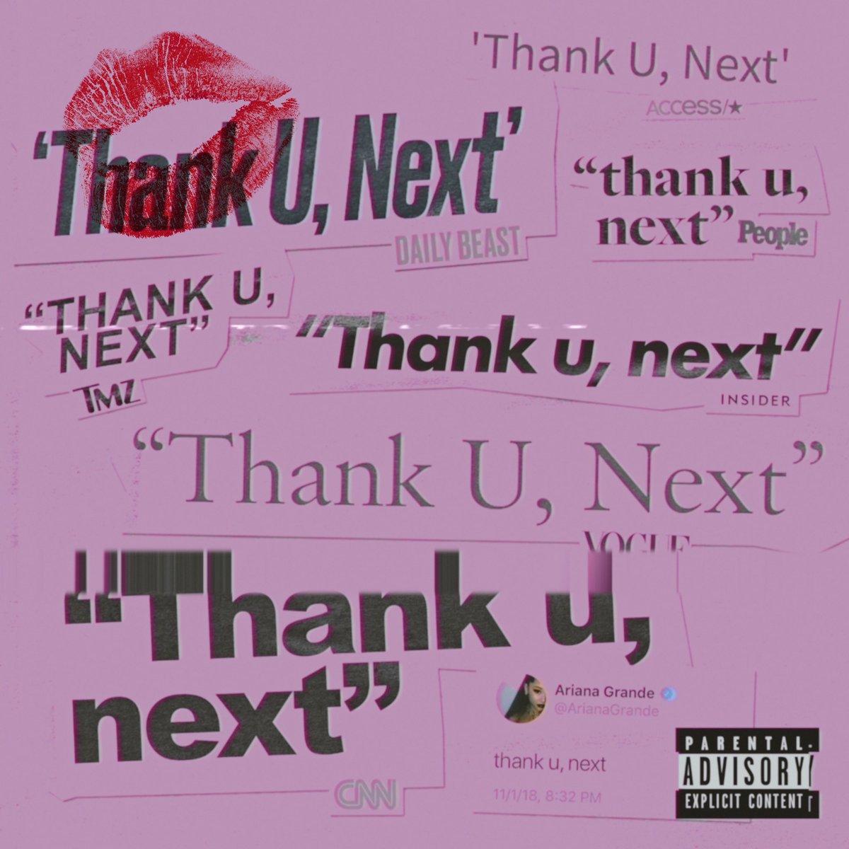 .@ArianaGrande drops her new single 'Thank You, Next.' Listen: https://t.co/kGL8Avqu54 �� https://t.co/90oIRaDDe1