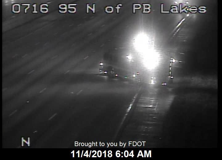palmbeach 95 nb after exit 71 plm bch lks the multi vehicle crash