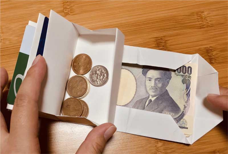 ちょっとA3の紙買ってくる  普通に使えちゃいそう……! A3の紙1枚で作れる「折り紙の財布」が作りたくなるクオリティー - ねとらぼ  @itm_nlab