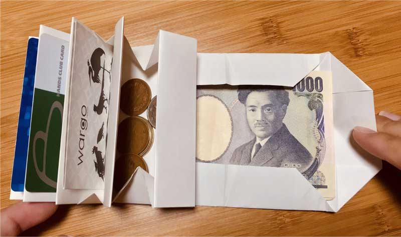 ふつうに使えるかも!wA3用紙で作れる財布がすごいwww