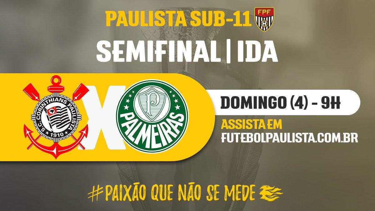 bb2c5ed55097a e derby no primeiro jogo da semifinal do paulista sub 11 corinthians e  palmeiras se enfrentam