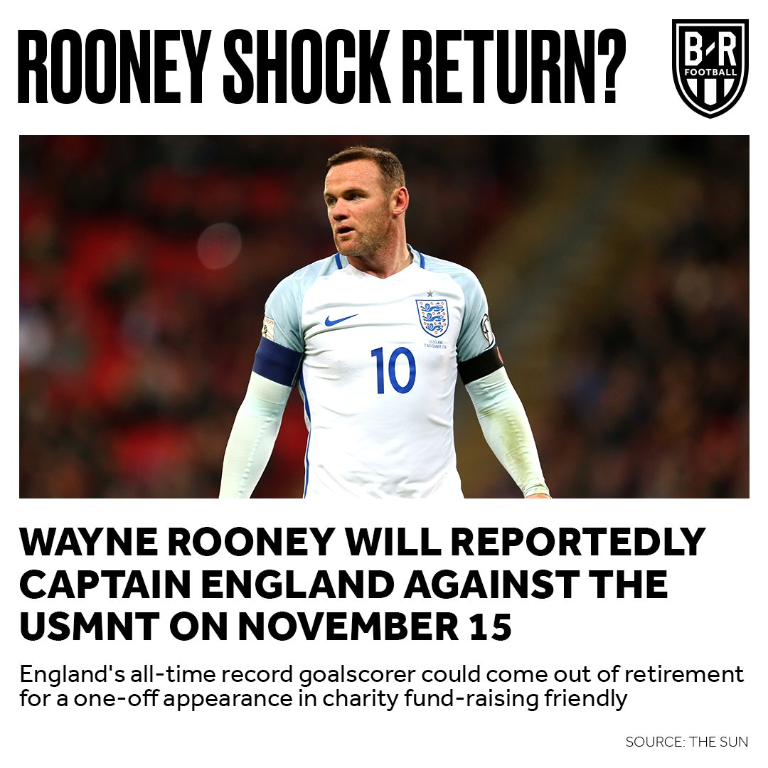 Wayne Rooney will play for England one more time, The Sun