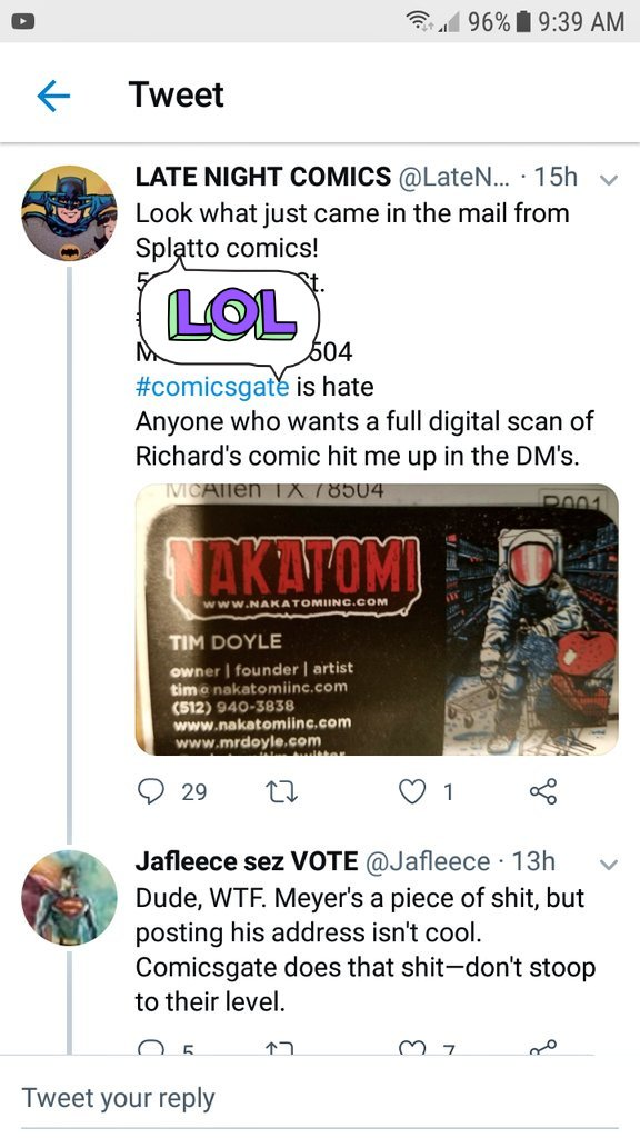 Anti Comicsgate Drops Dox Of Woman Who Backed Richard Meyer Literature Devil How does the name sound? anti comicsgate drops dox of woman who