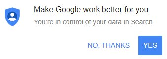 google yes or no
