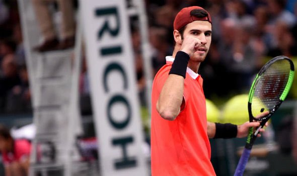 His name is Karen, @karenkhachanov 🇷🇺 and he's the new champ in town! @ATPWorldTour @RolexPMasters