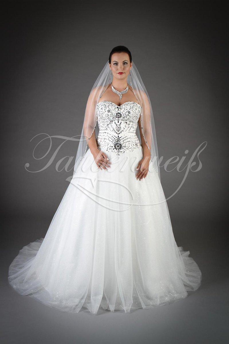 Brautkleider mit schleppe und glitzer
