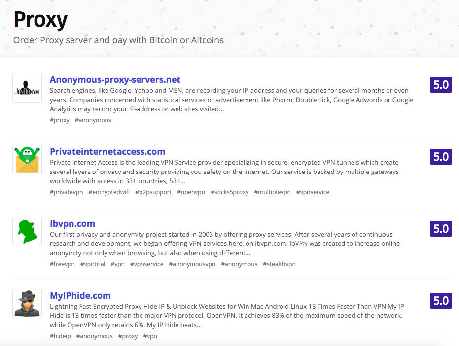 Etiqueta #freeproxy en Twitter