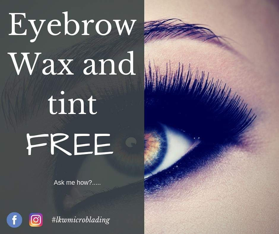 Places To Get Eyebrows Waxed And Tinted Near Me