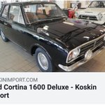 Image for the Tweet beginning: This nice Ford Cortina 1600