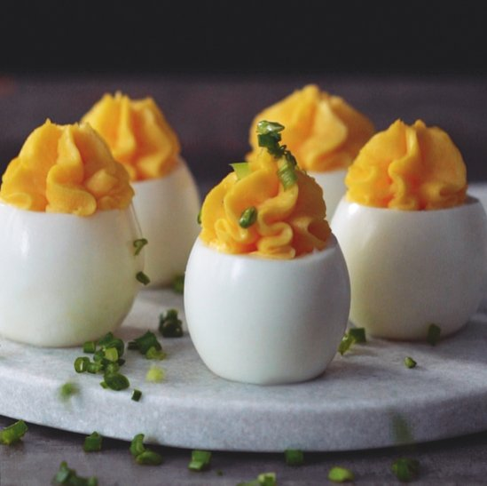 @foodandwine: The best recipe for one of the world's greatest appetizers: deviled eggs. https://t.co/BB0gQ258t6 https://t.co/lRqpzzADO7