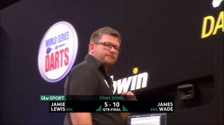 ⚙️ RESULT: James Wade extends his unbeaten run to eight matches after a 10-5 victory over Jamie Lewis to reach the Semi-Finals of the World Series Finals in Vienna! 👏 #BwinDarts