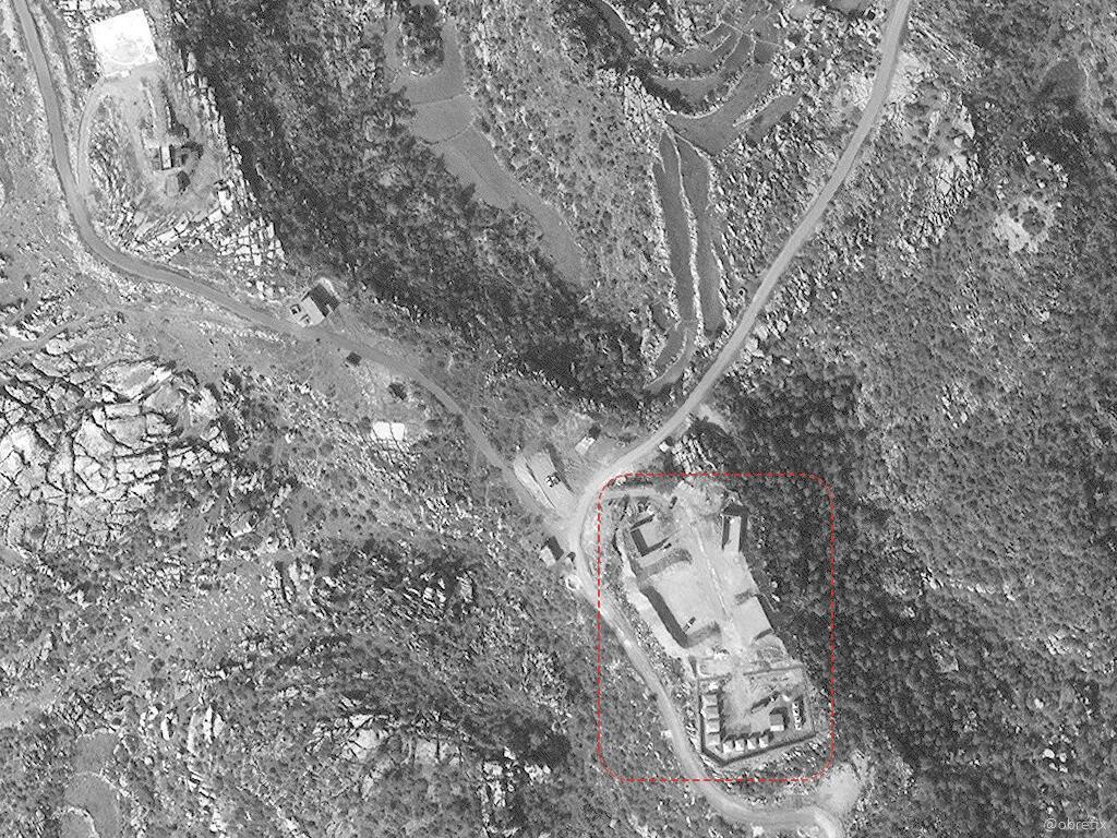 Сводки из Сирии. Позиции С-300 к северу от Масиафа