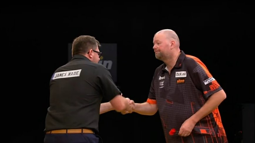 ⚙️ RESULT: James Wade is through to his second successive televised final after an 11-2 rout of Raymond van Barneveld with a 99 average and 65% on the doubles! 👏 #BwinDarts